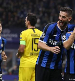 Borussia Dortmund vs Inter Milan last meeting
