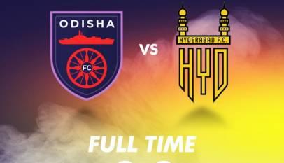 Odisha FC Vs Hyderabad FC