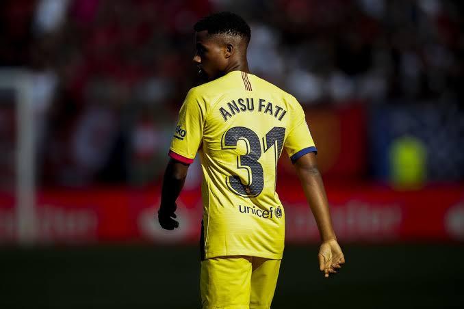 Ansu Fati fires late to break Inter milan's heart