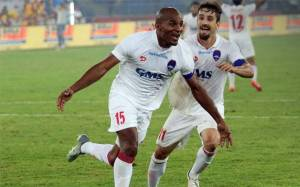 Florent Malouda and Marcelinho