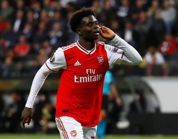 Here's how Bukayo Saka Came up through the ranks of Arsenal FC