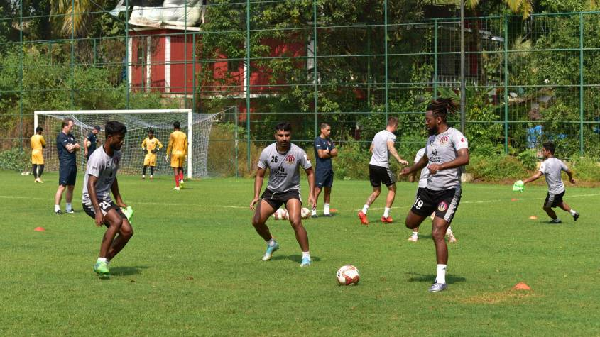 SC East Bengal training