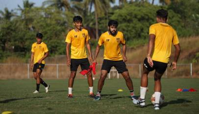 Hyderabad FC Training